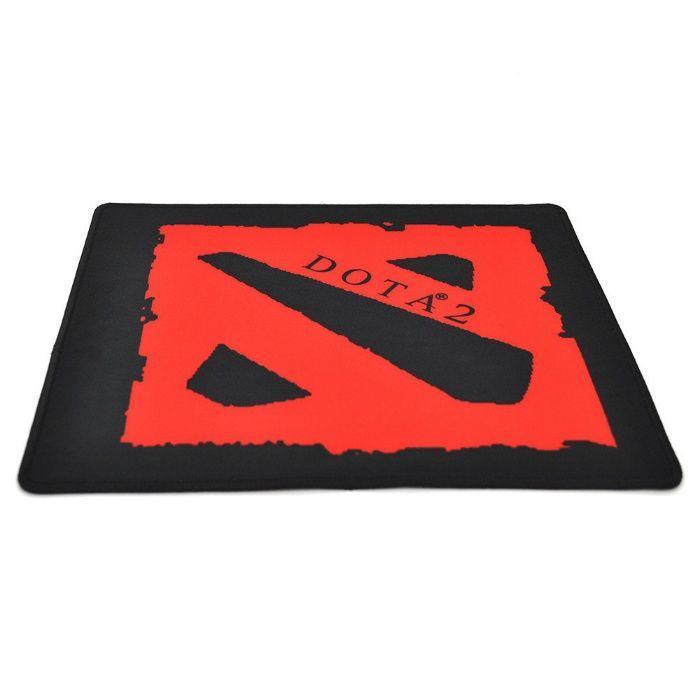 Игровая поверхность, коврик DOTA2 290*250мм с боковой прошивкой 3 мм