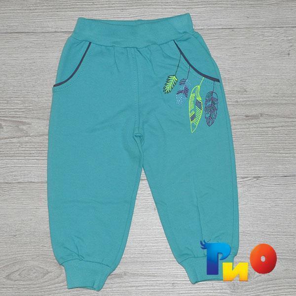 Детские штаны из трикотажа,  для девочек 1, 2, 3, 4 года (4 ед в уп)
