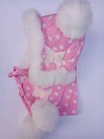 Шапка и шарф из флиса для девочки, фото 1