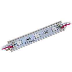 Модуль SMD5050 3LED IP65 красный
