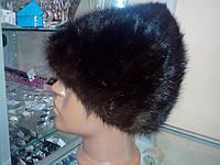 Меховая шапка из натуральной норки (хвосты).