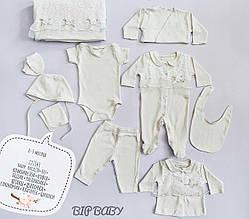Комплект на выписку для девочки Одежда для девочек 0-2 Bip baby Турция 727343