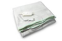 🔝 Электропростынь двуспальная с сумкой (160х115 см, 100 W), Electric Blanket, Зеленая, электроодеяло | 🎁%🚚