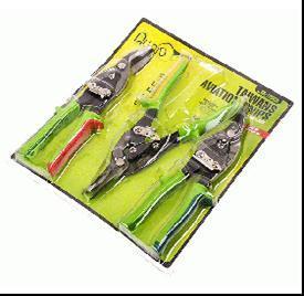 Набір ножиць по металу 3од. Alloid НМ-112003Н
