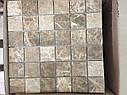 Мраморная Мозаика Полированная МКР-3П (47x47) 6 мм Emperador Light, фото 3
