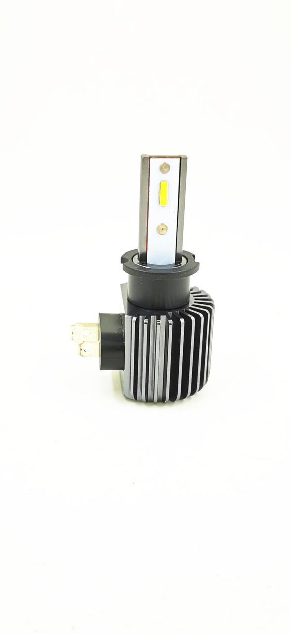 Светодиодная LED лампа головного света EF CSP 8000Lm 50Watt (H3 цоколь)