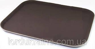 Прямоугольный поднос антислип BERG 460х360 мм
