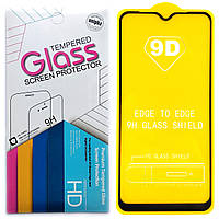 Защитное стекло 9D для Samsung Galaxy A10 / A10s 2019 (Black)