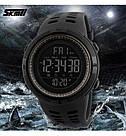 Оригинальные спортивные мужские часы Skmei (Скмей) Amigo 1251 Green / black / black red, фото 6