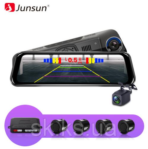 Автомобильный  патронник оригинал junsun H11 видеорегистратор с зеркалом заднего вида