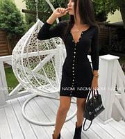 Женско красивое приталенное платье