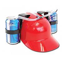 Шлем для пива Beer helmet Красный