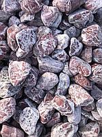 Красный декоративный камень для ландшафта мраморная галька крошка