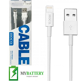 USB кабель Hoco UPL02 iPhone (1200mm), белый