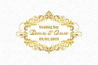 Фотозона для свадьбы, фон для росписи, весільна фотозона