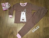 Піжама для дівчинки на байку ТМ Фламінго, фото 1