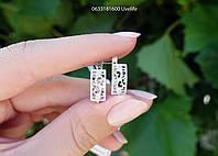 Серебряные серьги ажурные Арт. 41076