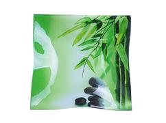 Фруктовница 25 см Элегант (Зеленый бамбук)