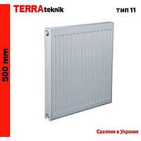 Стальной радиатор TERRA teknik 500/11/1100