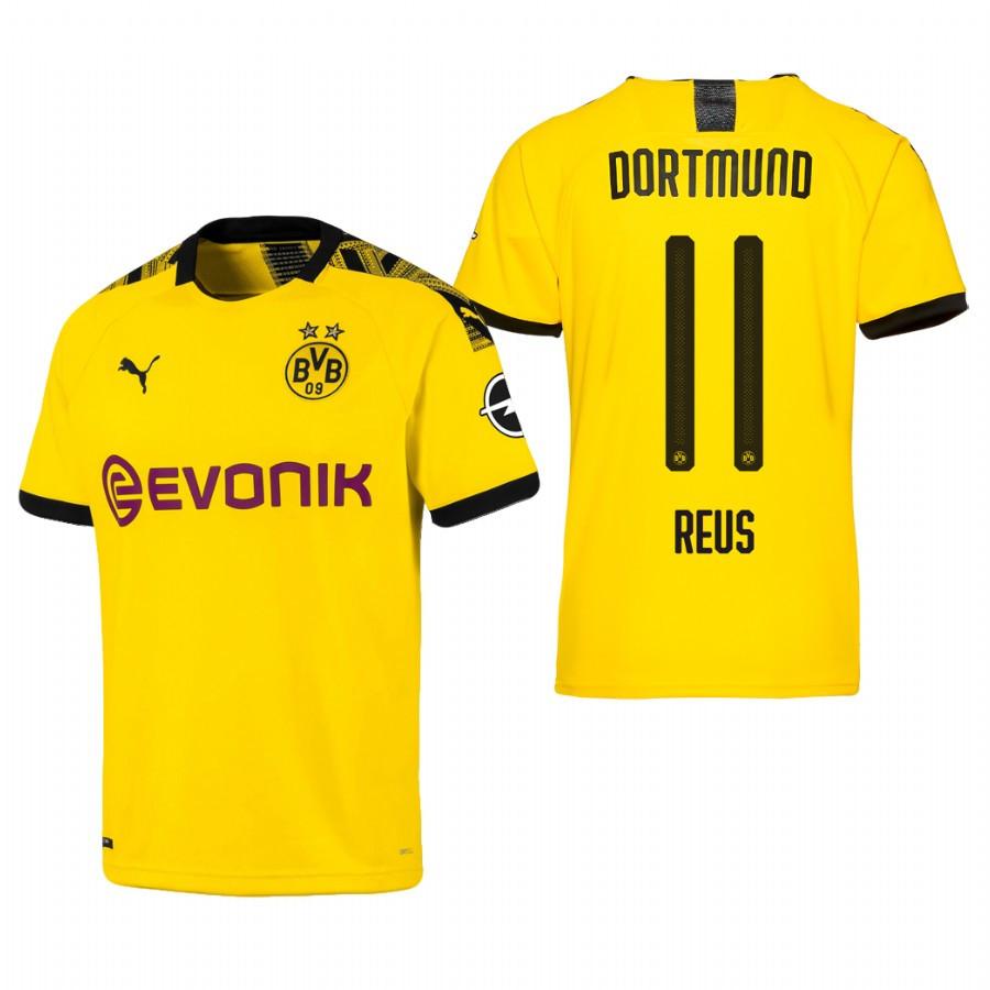 Футбольная форма Боруссия Дортмунд REUS 11 сезон 2019-2020 основная желтая