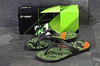Вьетнамки мужские зеленые Rider 5181