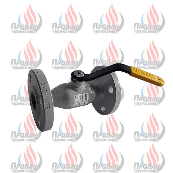 Кран кульовий фланцевий EFAR WK 6ba PB DN 20 PN 40 для зрідженого газу