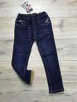 Утепленные джинсы на флисе. 4-года