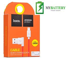 USB кабель Hoco UPL11 iPhone (1200mm), красный