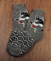 Шерстяные носки подростковые , 19-23 см, фото 1