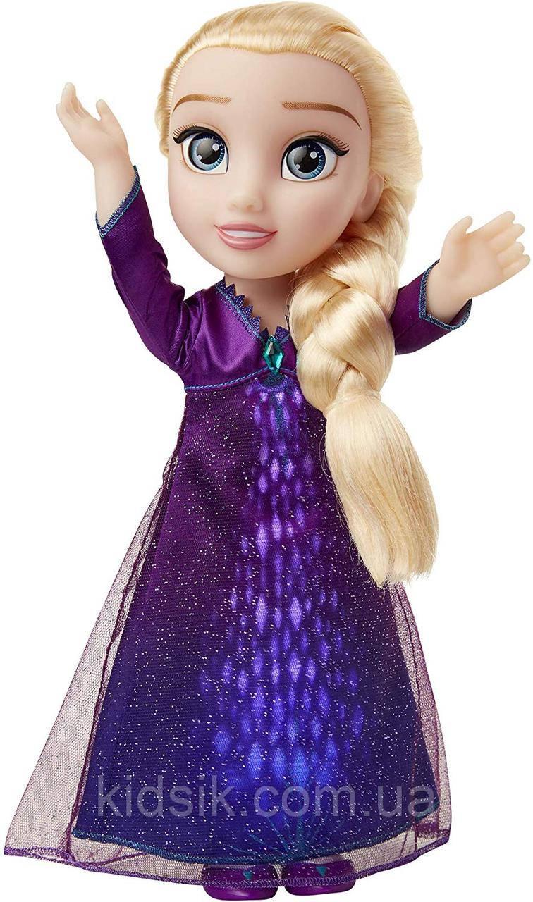 Поющая кукла Эльза со световыми эффектамиХолодное сердце 2Disney Frozen 2 Elsa, фото 1