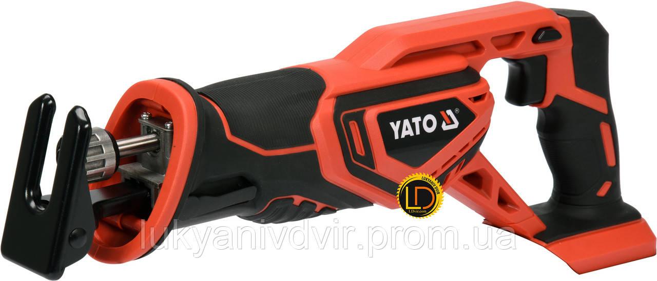 Аккумуляторная сабельная пила YATO YT-82815
