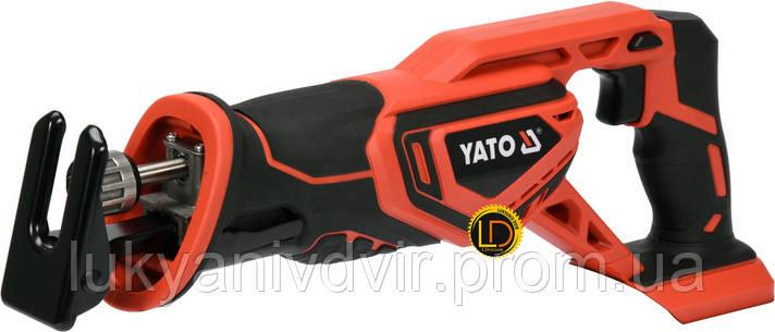 Аккумуляторная сабельная пила YATO YT-82815, фото 2