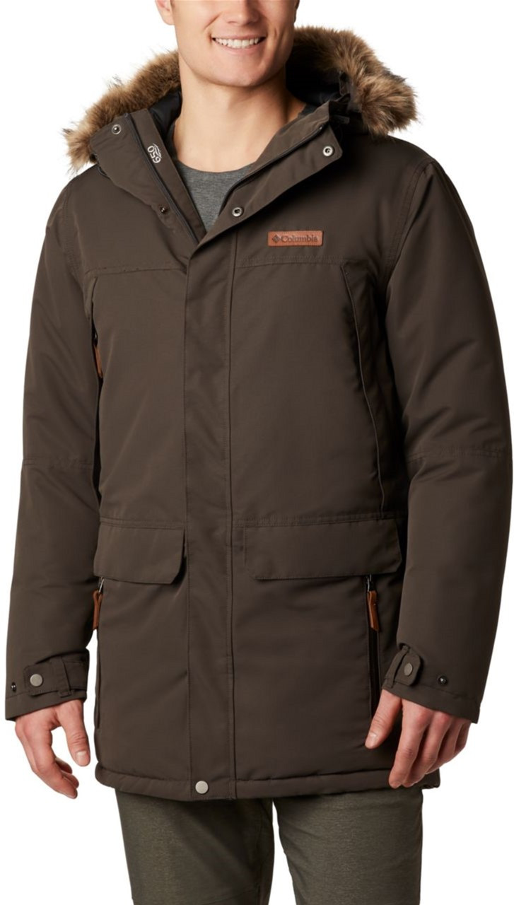 Мужская парка Columbia South Canyon Long Down Parka