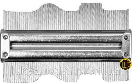 Шаблон для профелей Yato металический 150х46мм, фото 2