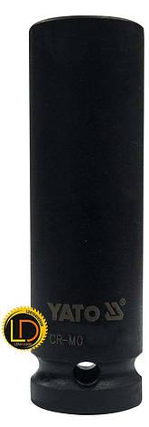 Головка Yato ударная глубокая 6-гранная 1/2 17мм, фото 2