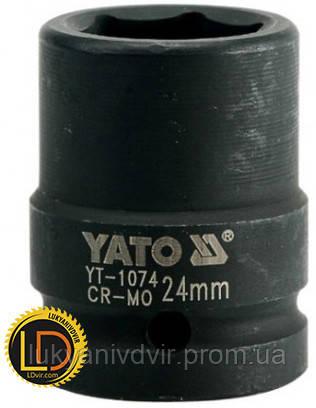Головка Yato ударная 6-гранная 3/4 24мм, фото 2