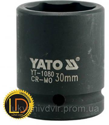 Головка Yato ударная 6-гранная 3/4 30мм