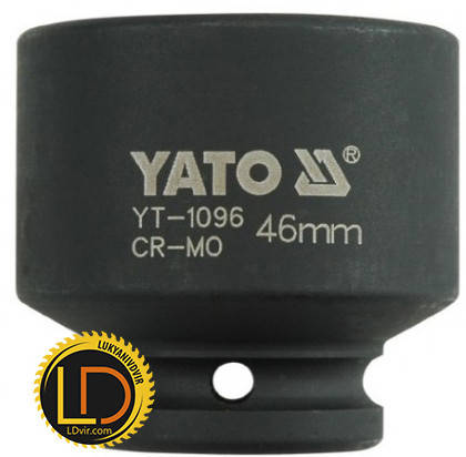 Головка Yato ударная 6-гранная 3/4 46мм, фото 2