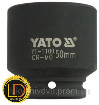 Головка Yato ударная 6-гранная 3/4 50мм, фото 2
