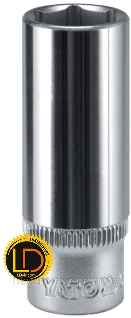 Головка Yato торцевая длинная CrV 1/2 16мм