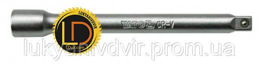 """Удлинитель с шаром для воротка Yato 1/2"""" 127мм"""