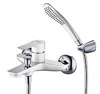 Смеситель для ванны Gerda WEV наружный однорычажный Хром WEV23461KX-H21166-HN