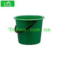 Ведро пластиковое 5 литров Юнипласт цветное