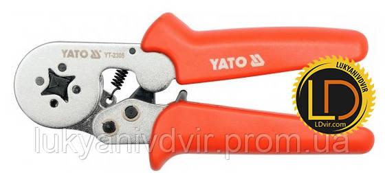 Инструмент для обжима наконечников Yato