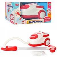 Пылесос игрушка 3213, 19-12-14,5 см, звук(механизма), свет, пенопластовые шарики, на бат-ке