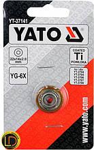 Ролик для плиткореза Yato 22х14х2мм