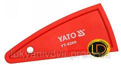 Шпатель для силикона Yato