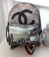 Рюкзак женский Chanel Graffiti(Шанель граффити).