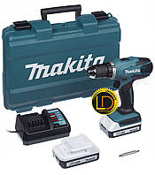 Аккумуляторный дрель-шуруповерт Makita DF457DWE