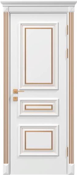 Дверь межкомнатная Rodos Siena Rossi ПГ